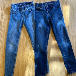 Gap Jeans Girls Size 7 Slim (Jegging/Jeans Set)